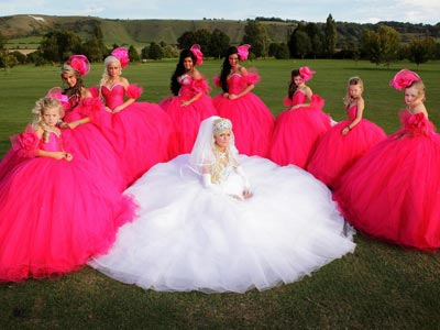 Image Result For My Big Fat Gipsy Wedding Dresses